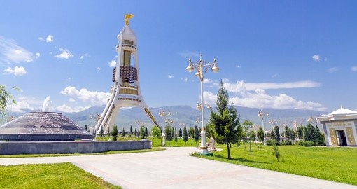 The Neutrality Monument, Ashgabat