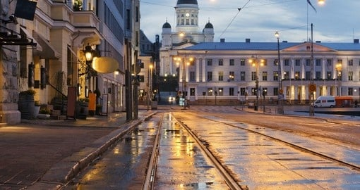 Stroll beautiful Central Helsinki on your Finland vacation