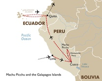 Machu Picchu and the Galapagos Islands with International and Regional Airfare