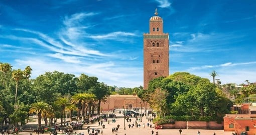 Visit Main square of Marrakesh during your next Morocco vacations.
