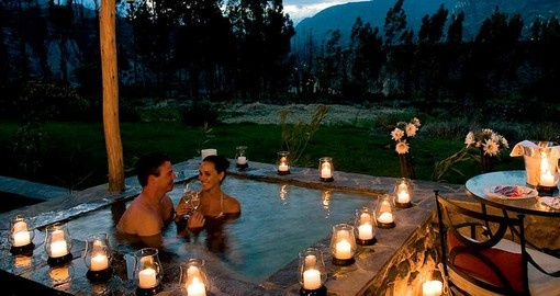 Relax after a day of adventure on your Peru Tour