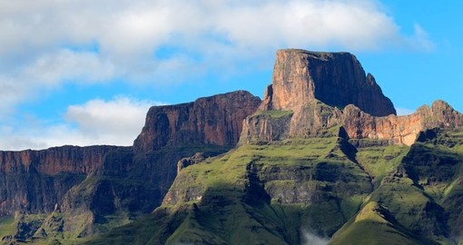 Discover Sential Peak in The Drakensberg during your next South Africa tours.