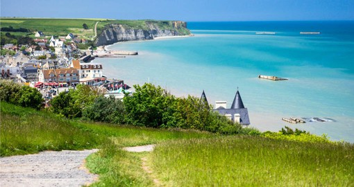 Inspiring beaches at Arromanches