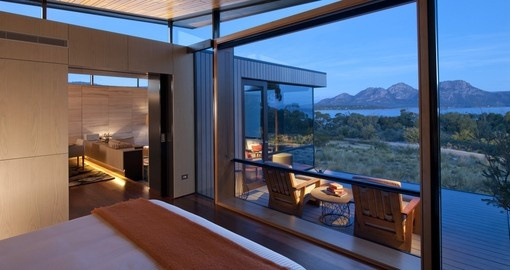 Enjoy an amazing Private Pavilion of Saffire Freycinet during your next Australia tours.