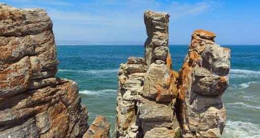 Rock formations, Hermanus