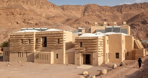 Feynan Eco-Lodge offers an eco experience on your Jordan vacation.