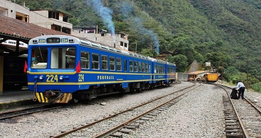 The Aguas Calientes is a popular stop on the way to Machu Picchu on your Peru tour