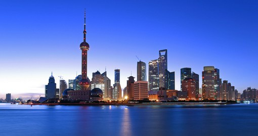 Begin your China vacation with a visit to Shanghai