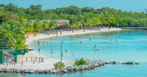 The many beaches of Roatan provide a relaxing break on your Honduras vacation