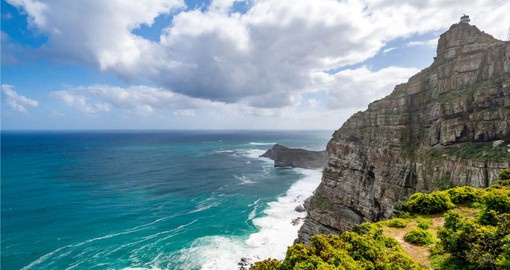 A visit to the spectacular Cape of Good Hope is a highlight of your South African tour