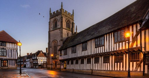 Stratford-upon-Avon, the birthplace of William Shakespeare is steeped in culture and history