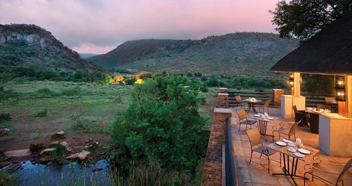"Kwa Maritane, or ""Place of the Rock"" is the perfect base from which to explore Pilanesberg"