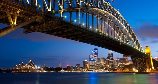 Skyline as seen from Milsons Point during your next trip to Australia.