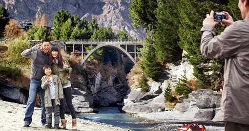 Enjoy amazing scenery in Queenstown on your New Zealand Vacation