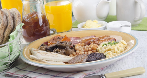 Ulster fry breakfast in Northern Ireland
