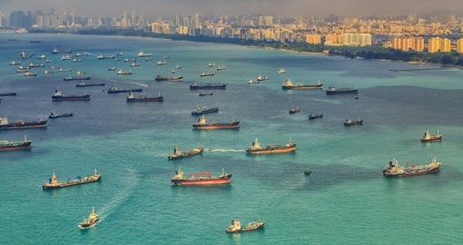 Singapore has the world's busiest port