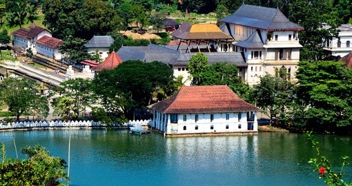 Temple of the Sacred Tooth Relic of Buddah in Kandy