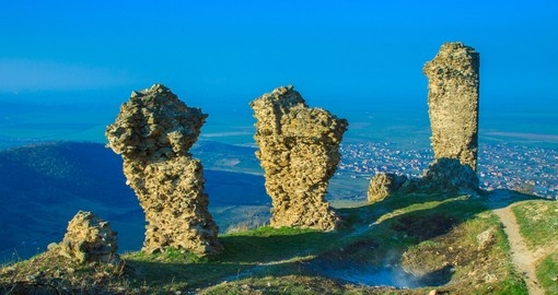 The Ruins of Siria Medieval Fortress