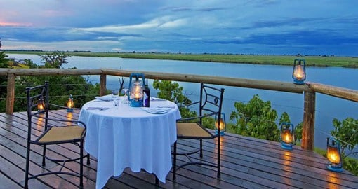 Chobe Game Lodge is the only permanent game lodge situated within Chobe National Park
