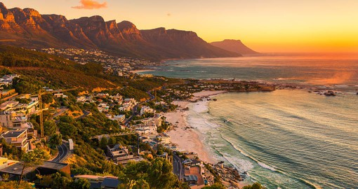 Walk on the Beaches on the Atlantic and enjoy the view during your next trip to South Africa.