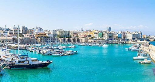 Explore little known Heraklion on your Greece Vacation