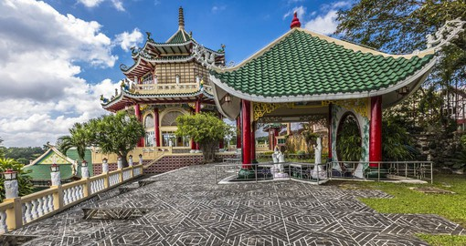 Visit the Pagoda and dragon sculpture, Taoist Temple, Cebu, Philippines as part of your Philippines Vacation.
