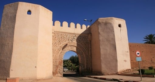 Visit Old city wall in Marrakech on oyur next Morocco tours.
