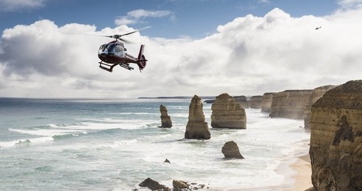 Visit the rugged splendour of the Great Ocean Road