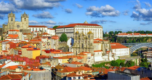 Porto's history dates to 300 BC and has been controled by the Romans and Moors