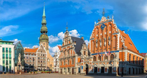 The largest of the Baltic capitals, Riga is a vibrant cosmopolitan city