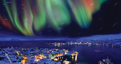 Experience natures beauty Northern Lights over Reykjavik on your next Iceland tours.
