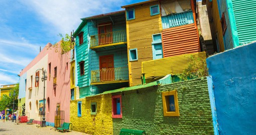 La Boca's famous El Caminito Street is an open-air museum