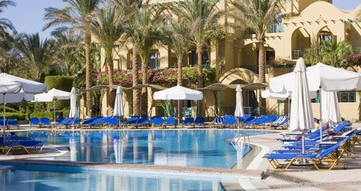 There are many luxury hotels in Hurghada to choose from for you Egypt vacation.