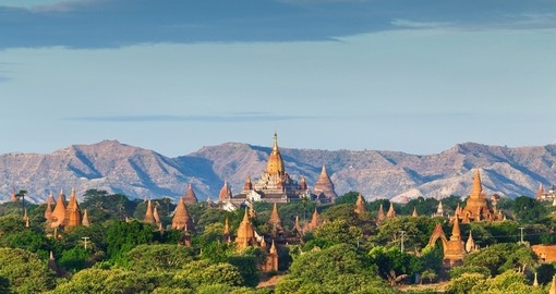 You will see The Temples of Bagan in Myanmar during your Myanmar Vacation.
