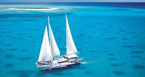 The Ocean Spirit takes you to the Great Barrier Reef on your Australia Vacation