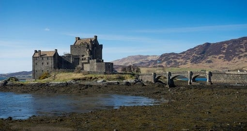 Visit Eilean Donan Castle 13th century beauty on your next trip to Scotland.