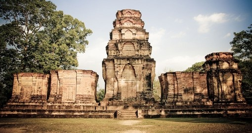 Visit mysterious Angkor Wat on your Cambodia vacation