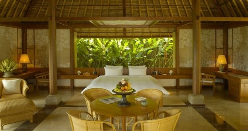 Relax in yoru suite on your Bali vacation