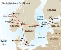 Nordic Capitals and Fjord Dreams