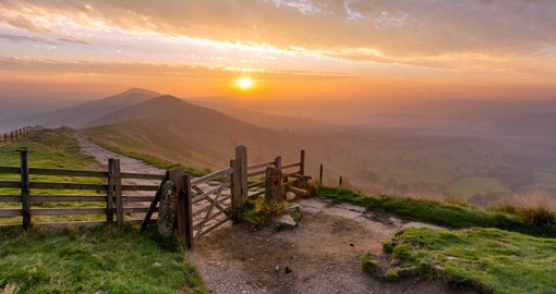 Some of Britain's most beautiful natural settings are found in the Peak District