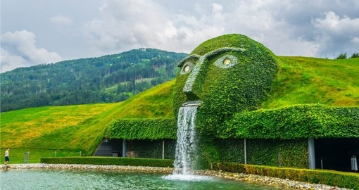 Visit Swarovski Kristallwelten on your Austria Vacation