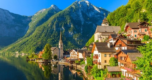 See the unspoiled village of Hallstatt on your Austrian Vacation