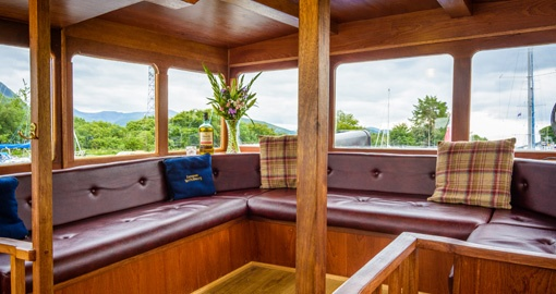 The Observation Area on the Scottish Highlander.