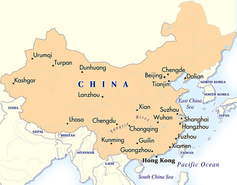Lhasa China Map.Lhasa City Stay China Tour Goway