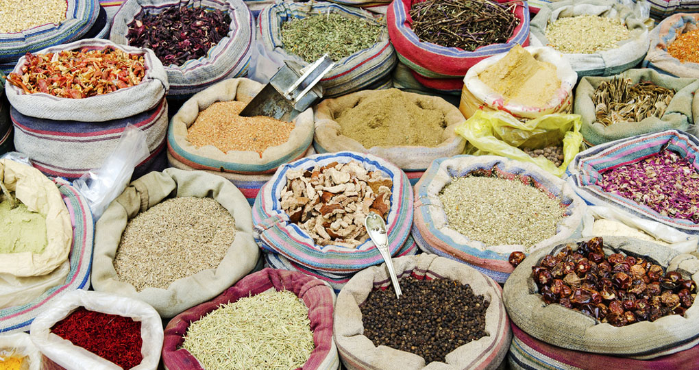 spices in Cairo market
