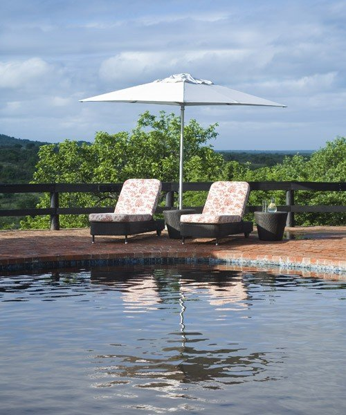 Phinda mountain lodge pool