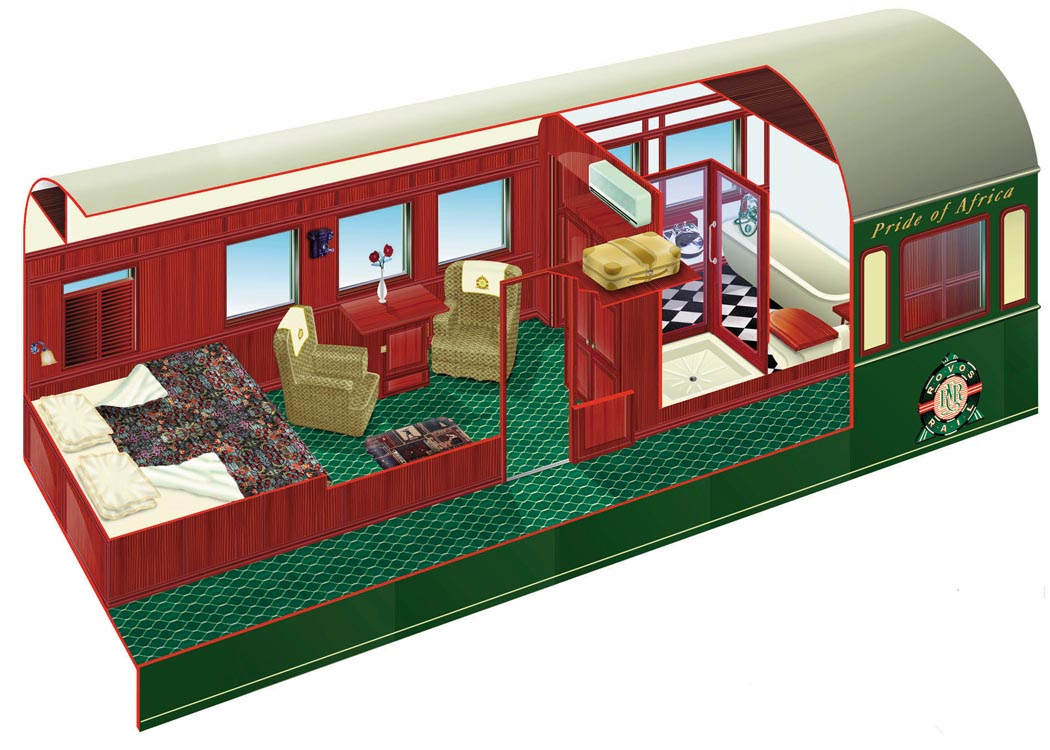 Rovos Rail Accommodation Amp Suite Plan Goway Travel