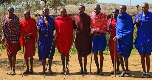 The Maasai are indigenous tribes of Kenya and Tanzania