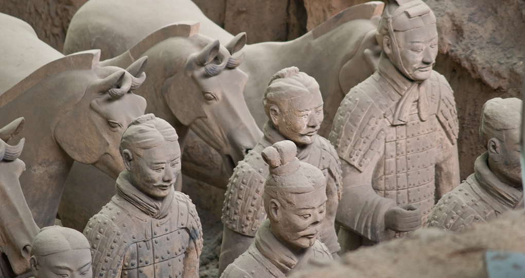 Terracotta warriors in Xi'an