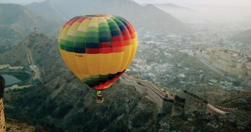 Jaipur Hot Air Balloon India India Tours Goway Travel